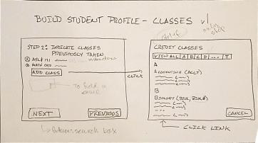 Everett Community College advisor portal sketch